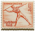 1936 Germany Olympic javelin
