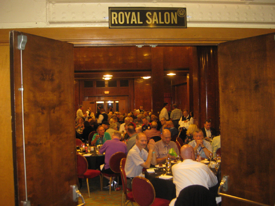 Queen Mary: Gala Banquet in the Royal Salon