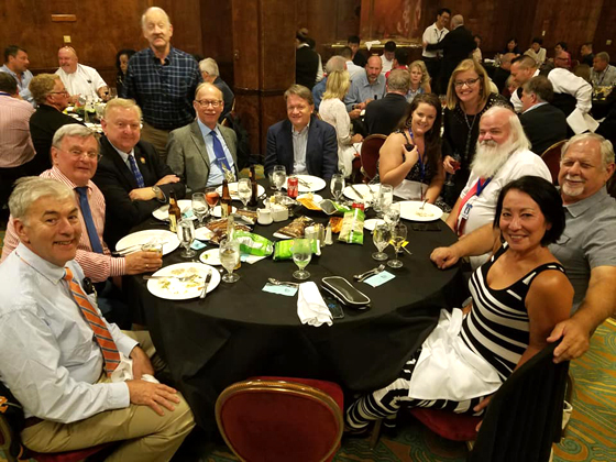 Queen Mary: SPI members enjoying the banquet