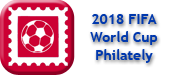World Cup 2018 philately icon